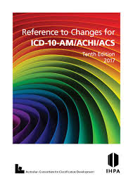 icd 10 am achi acs tenth edition education reference to changes