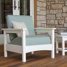 Patio Club Chair Patio Furniture Polywood Club Chair Pwclc23wh Li Wonderful Photo