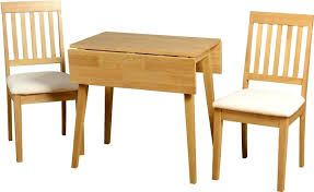 Dining Set 2 Chairs Drop Leaf Table And Chairs Pauljcantor