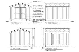 Free Wood Shed Plans Materials List by Pdf 10x12 Wood Shed Plans Free Plans Free