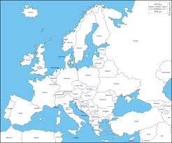 europe free map free blank map free outline map free base map