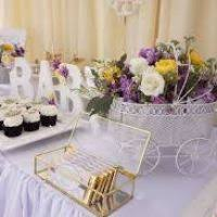 purple baby shower ideas lavender and yellow baby shower shower ideas