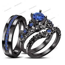 blue wedding rings wedding rings blue sapphire wedding rings stimulating entertain