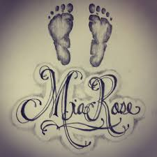 tattoo pictures baby footprints baby footprint drawing at getdrawings com free for personal use