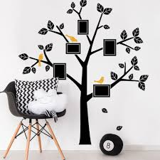 family tree decals kids wall decals nursery simple modern family simple modern family tree wall decal