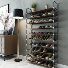 20 sable 10 tiers 50 pairs shoe rack space saving shoe organizer