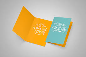 greeting card mockup business letter template