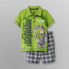 disney toy story toddler boy u0027s polo shirt u0026 shorts