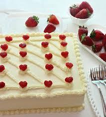Sheet Cake Decoration Strawberry Sheet Cake Decoration