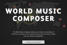 learn about from around the world with world composer