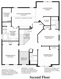 2nd Floor Plan Design Dominion Valley Country Club Carolinas The Richmond Ii Home Design