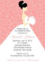 custom bridal shower invitations collection of thousands of free printable wedding invitation