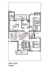 technical floor plan vatika primrose floor plan floorplan in