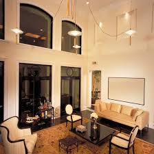 Chandelier Height Above Table by 54 Living Rooms With Soaring 2 Story U0026 Cathedral Ceilings