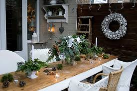 pine cone table decorations outdoor decorating for christmas