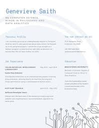 scholarship resume templates blue simple line scholarship resume college format free