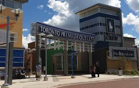teeming crowds and designer discounts at toronto s newest and