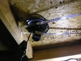 solar attic fan 3 steps