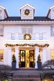 improvements indoor outdoor lighted christmas garland outdoor lighted garland garl best canada for christmas jeanbolen info