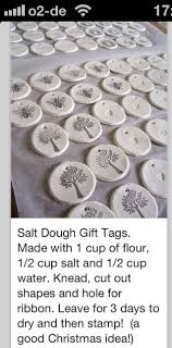 learn how to make your own salt dough ornaments with this simple