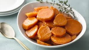 classic candied sweet potatoes recipe bettycrocker