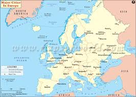 european russia map cities map of europe with major cities major tourist