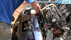 how to install replace air conditioning compressor bypass pulley