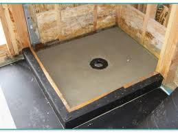 Installing Basement Shower Drain by Installing Basement Shower Drain