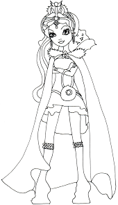 ever after high coloring pages raven queen ever after high raven