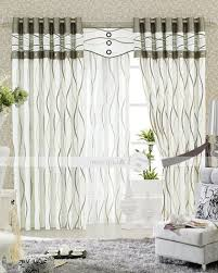 Modern Living Room Curtains by Living Room Curtain Ideas For Bay Windows White Polyester Indoor