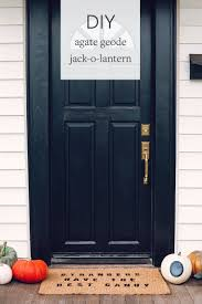 jojotastic diy boho agate geode jack o lantern