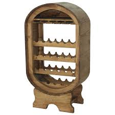 the most awesome barrel wine rack pertaining to residence ideas