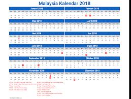 Kalender 2018 Hari Raya Puasa Calendar 2018 Malaysia With Holidays Free Newspictures Xyz