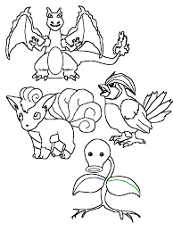 pokemon squirtle coloring pages printable images pokemon images