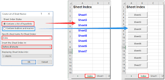 how to select specific worksheet based on cell value on another