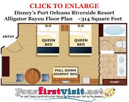Disney Cruise Floor Plans by Review Disney U0027s Port Orleans Riverside Resort