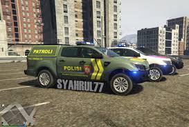 Ford Ranger Truck Mods - ford ranger 2014 polisi indonesia gta5 mods com