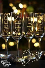 new years chagne glasses 15 diy new year s decor ideas a cultivated nest