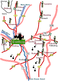 bamberg germany map german castles near bamberg in bavaria germany with maps photos