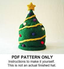 christmas tree hat knitting pattern christmas tree hat pattern the nick hat