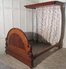 victorian mahogany half tester bed sellingantiques victorian mahogany half tester bed