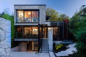 urban home design secluded urban residence in vancouver with a laneway house