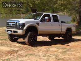 2009 ford f 250 duty fuel boost suspension lift 4in