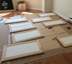 How To Reface Cabinet Doors Melamine Cabinet Diy This Is Honestly The First Diy That Seems