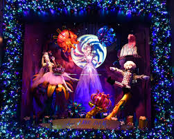 saks fifth avenue lights see photos of this year s holiday window display at saks fifth avenue