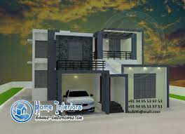 2800 square foot house plans modern style kerala home design 2015