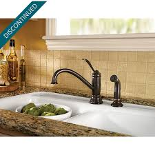Price Pfister Ashfield Kitchen Faucet Tuscan Bronze Brookwood 1 Handle Kitchen Faucet F 034 4aly