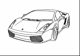 fabulous lamborghini drawing outline with lamborghini coloring