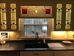 stained glass windows for kitchen cabinets stained glass kitchen ideas photos houzz
