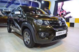 land rover nepal renault kwid 1 0l front three quarters at nepal auto show 2017
